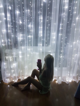 300 Led Curtain Lights Party Wedding Fairy 1