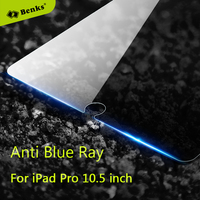 Benks Anti Blue Ray Glass For Apple IPad Pro 10 5 Tempered Glass Screen Protector Explosion