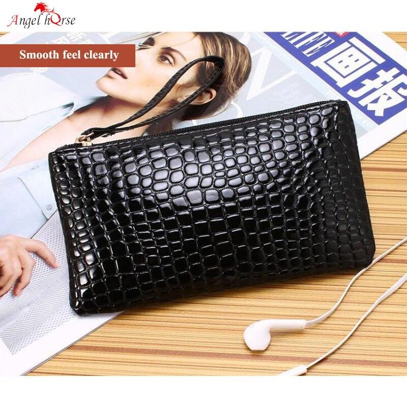 Angel Horse Mini Pouch Korean Style Soft Change Purse Fashion Unisex Small Coin Purse PU Zipper Mini Wallet Bag Woman Man Newest