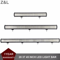 OFFROAD 28 37 45 INCH LED LIGHT BAR 12 24V TRUCK TRAILER WAGON CAR PICKUP SUV BOAT VEHICLE 4WD 4X4 EXTERIOR COMBO AUXILIARY LAMP