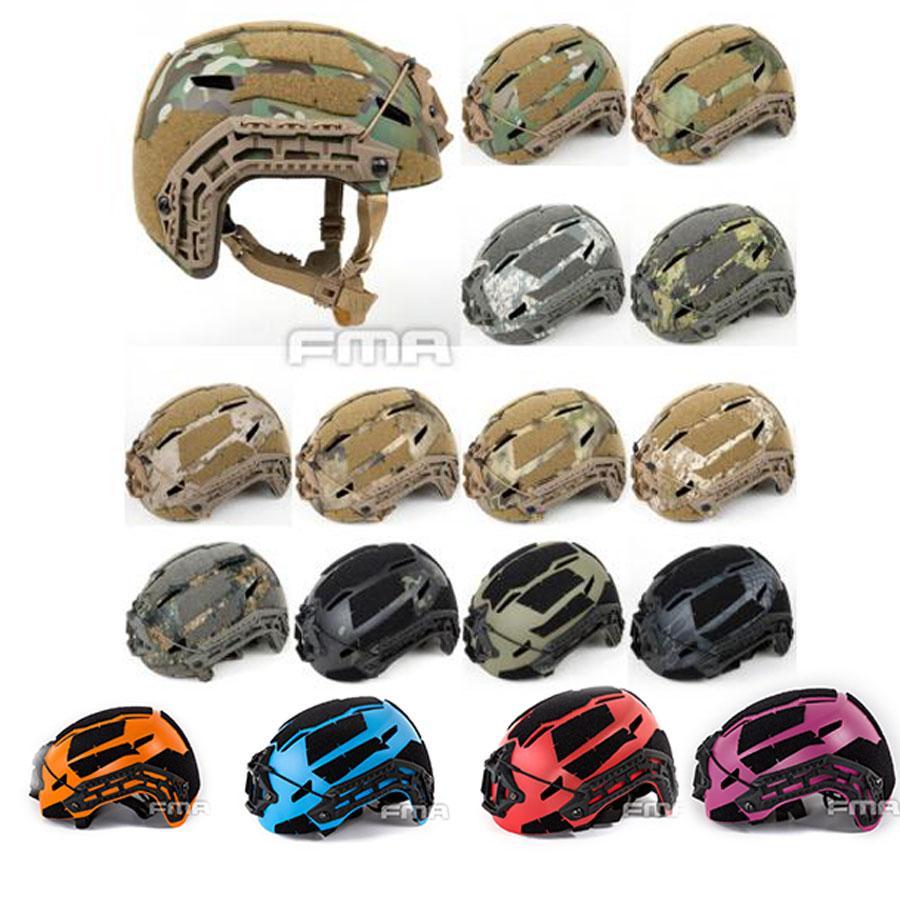 FMA NEW Tactical Airsoft Caiman Ballistic Helmet Multicam Outdoor Sport  Climbing Mountaineering Helmet TB1307-in Helmets from Sports & Entertainment    1