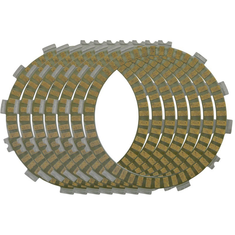 Motorcycle Engine Parts Clutch Friction Plates For Honda CR250 R CR480R CR500R XR500R XL600R XR600 R NX650 VF700 Motorbike