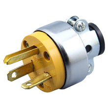 New Supply 6-20P 250V 20A 3 Pole NEMA US Detachable Industry Power Converter Plug Inline Wire Connector For Southeast Asia цена