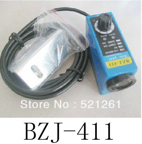 DIANQI BZJ-411 BZJ-511  Photoelectric switch color sensor colour  transducer sensor switch 100% new and original fotek photoelectric switch a3g 4mx mr 1 free power photo sensor