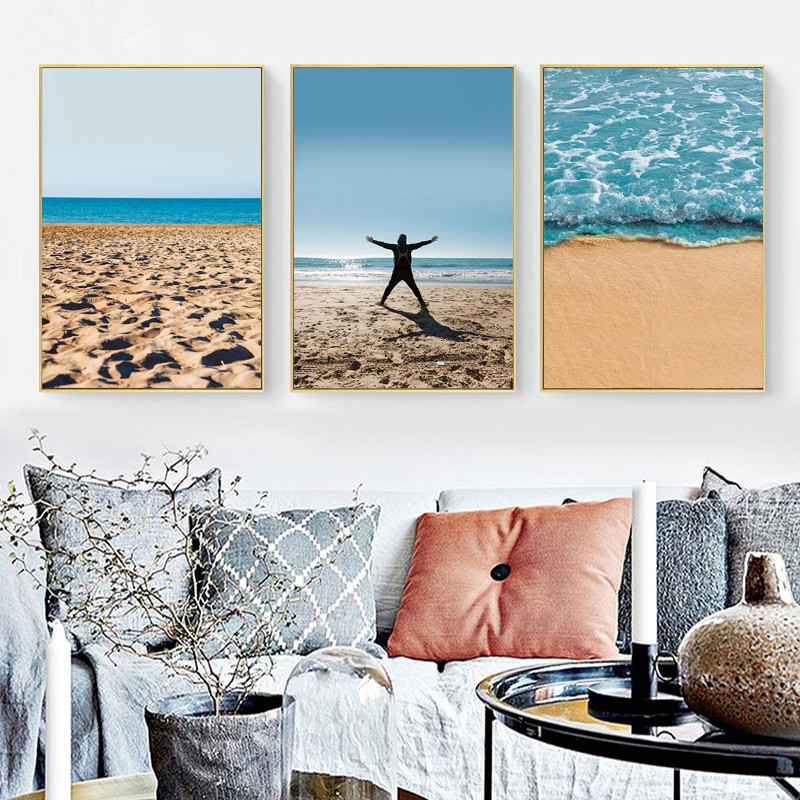 ART-ZONE-Canvas-Printing-Scenery-Mediterranean-Waterproof-Ink-Unframed-Wedding-Festival-Decoration-Bedroom-Wall-Art-Pictures
