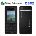 100% Original Unlocked Sony Ericsson C902 3G 5MP Bluetooh MP3 MP4 Player Refurbished Cell phone one year warranty free shipping