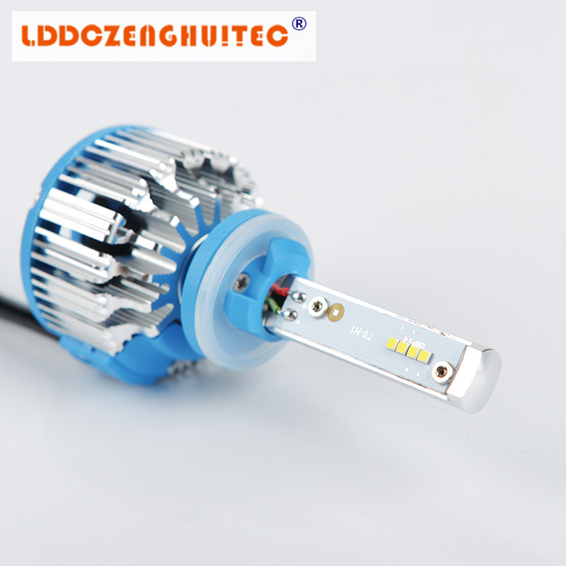 LDDCZENGHUITEC H4 Hi/Lo H7 H11 9005 9006 LED Car Headlights 8000lm 3000K 4300K 6000K High Brightness Auto Lights Conversion Kit