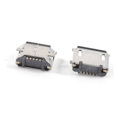 5 шт. USB Micro Тип-B 5pin Женский Джек разъем SMT поверхностного монтажа
