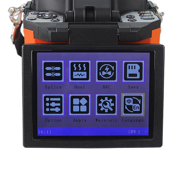 Image 4 - A 80S Orange Automatic Fusion Splicer Machine Fiber Optic Fusion Splicer Fiber Optic Splicing Machineoptic splicing machinesplicing machinefiber optic splicing machine - AliExpress