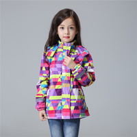 Girls Coat Windbreaker Winter Autumn Kids Warm Fleece Jackets Children Sports Coat Baby Winter Outwear Jackets