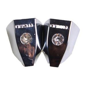 Image 5 - 2 pcs האוניברסלי רכב יהלומי מגב דקורטיבי כיסוי נובל תרגיל מדבקות אוטומטי חיצוני ריינסטון אופנה נובל קישוט מדבקה