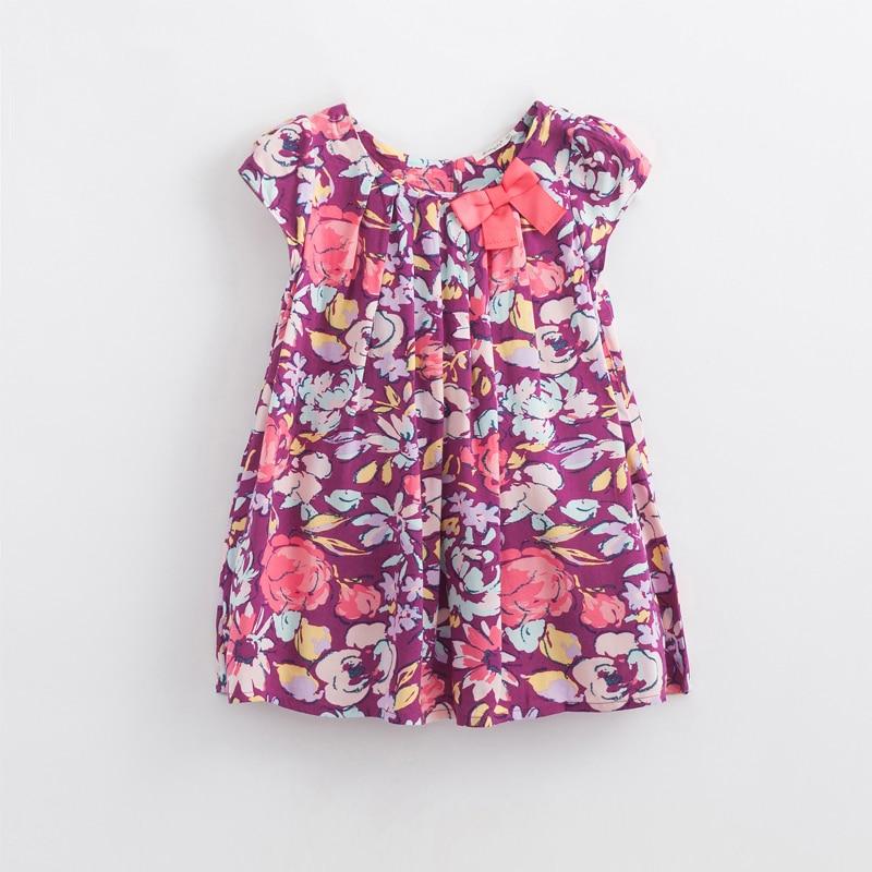 Baby κορίτσια φόρεμα 3-6Y Floral εκτύπωση - Παιδικά ενδύματα - Φωτογραφία 3