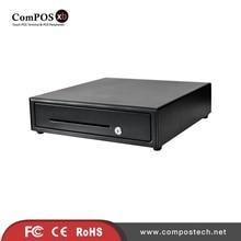 Бесплатная доставка кассовый аппарат ящик с кабелем для принтеры для чеков со съемным лоток для монет кассовый ящик для POS периферийных устройств