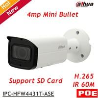 Dahua IP Camera IPC HFW4431T ASE POE 4MP WDR IR Mini Bullet Camera H 264 H