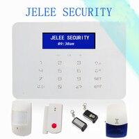 Бесплатная доставка яркие Цвет дисплей GSM Беспроводной сигнализации дома Охранной Сигнализации Системы