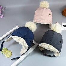 Children Autumn and Winter Hats with Velvet Earmuffs