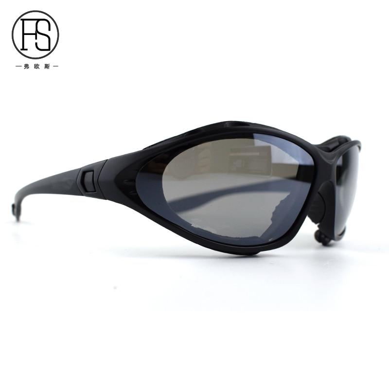 Good Quality C4 Glasses Windproof Eyewear Tactical Goggles Hunting Hiking Cycling Sport Sunglasses