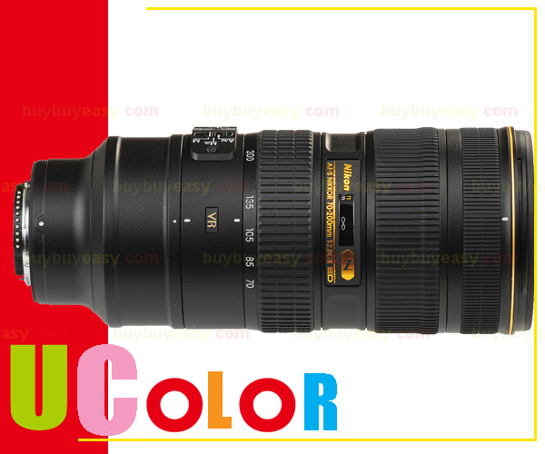 Genuine Nikon AF-S Nikkor 70-200mm f/2.8 G ED VR II Lens Telephoto Zoom Lens