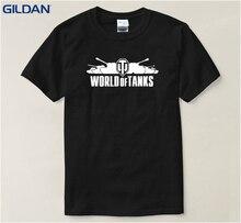 Summer Funny T-Shirt 4xl World Of Tanks Loose Pa473 Men's T Shirt Cotton Tshirt Big Size Top Quality