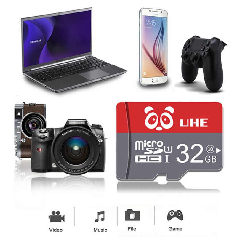 Micro SD de Alta Velocidad 32GB 64GB tarjeta de memoria Clase 10 rojo TF Carte 4GB 8G 16GB Microsd para teléfono tableta regalo