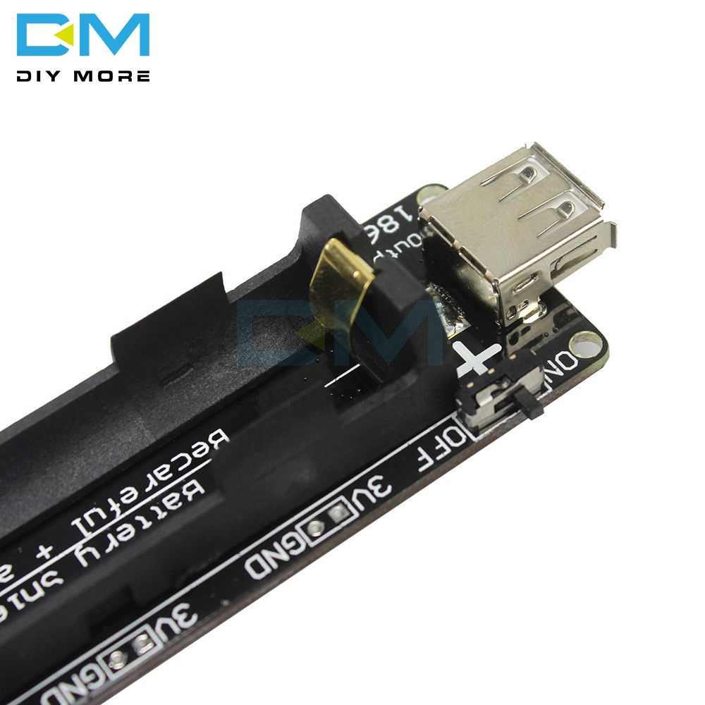 ESP32 ESP32S For Wemos For Raspberry Pi 18650 Battery Shield V3 Micro USB Port Type-A USB 0.5A For Arduino With Cable Diy Kit