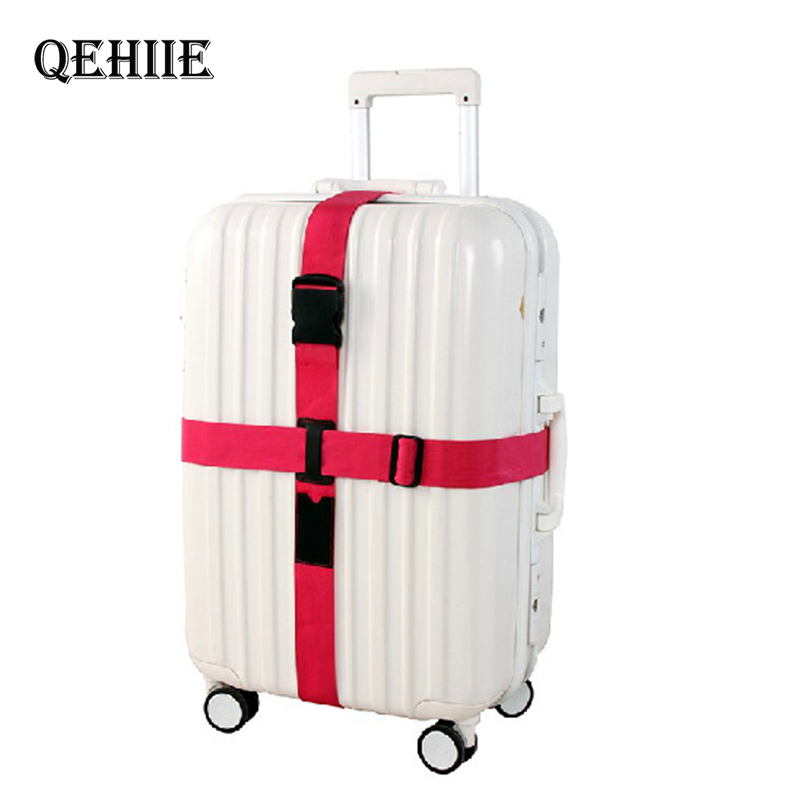 Travel Suitcase Safety Strap High-Quality Trolleys Cross-Bundling Luggage Straps Airport Transport Essential Travel Accessories