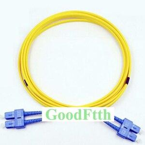 Image 1 - Cabo de ligação em ponte de cabo de remendo de fibra SC SC upc sc/UPC SC/upc sm duplex goodftth 1 15m