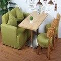 Jantar e conjuntos de mesa de café com cadeiras e sofá ao ar livre ou jardim móveis para sala de estar