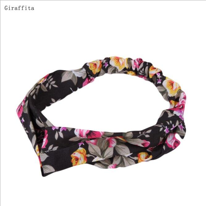 2017 Hot Arrival Sale Lovely Retro Cross Vintage Multi-colors Cloth Headband 15 Styles