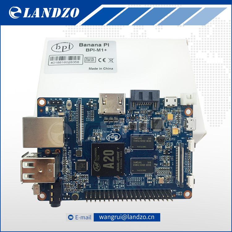 LANDZO free shipping original Banana Pi M1 plus A20 Dual Core 1GB RAM with Open source