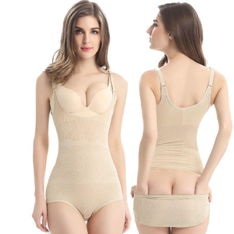 Bohowaii Shapewear Firm Controle Seamless das Mulheres desgaste Forma Busto Bodysuit Shaper Do Corpo Preto Fajas Modeladoras Cuerpo Completo