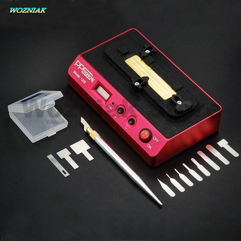 Возняк PPD 120E снос сварки платформа низкая температура снос A8 A9 чип Процессор NAND паяльная платформы для iPhone 7 6S