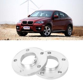 2 יחידות 5x120 74.1CB אלומיניום ממוקד גלגל מרווחי צמיג מתאמי חישוקים מקורבות רכזות עבור BMW X5 2007 + /X6 2008 +