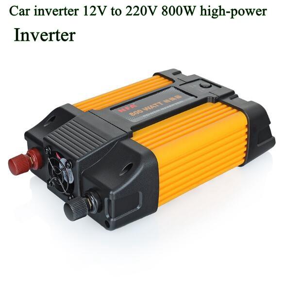 Aliexpress com : Buy Car Inverter charger 12v 220v 110v To Power Inverters  DC AC Voltage Converter Auto 800W Car Solar Adapter with clips USB 5v 2a