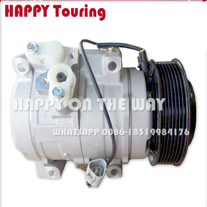 Land Cruise 88320-26600 447220-5270 88310-2f020 447260-8232 883106a141 Beautiful In Colour Hilux Pick-up Responsible 10s17c Ac Compressor For Toyota Hiace