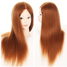 Hot Sale Training Hair Mannequin Heads Training Head Styling Long Hair Mannequin Cosmetology Wig Hairdressing Wig Models Made
