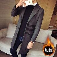 HCXY 2016 New Winter Jacket Men Fashion Brand Male Jackets Thicker Coat Jacket Coats Mens Jackets