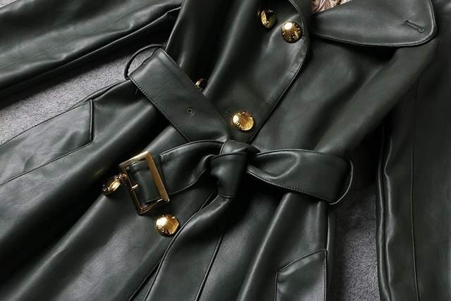 Online Shop 2018 Brand Jacket 100 Genuine Leather Coat Womens New