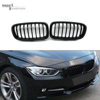 Taiwan Origin ABS front fence Grills Grille For BMW 3 Series F30 F31 320i 325i 328i 335i 2012 - IN matte black