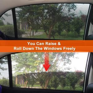 Image 3 - 2 упак. Солнцезащитный козырек от солнца для автомобиля, защита от ультрафиолета, занавес для окна автомобиля, солнцезащитный козырек, летняя Защитная пленка для окна