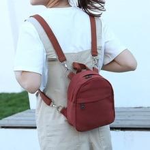 Лидер продаж 2016 года модные женские туфли мини-рюкзак школьный рюкзак для девочки-подростка студент небольшой рюкзак холст Mochila Escolar