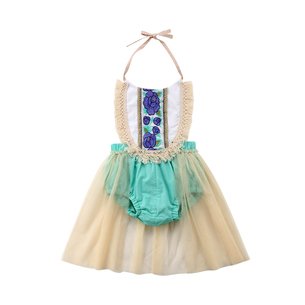 Newborn Infant Kids Baby Girl Clothes Cute Party Tulle