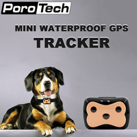 D69 Pet GPS TrackerDog Mini Tracking Device Waterproof 300 Hours Standby Time Wide Range Power