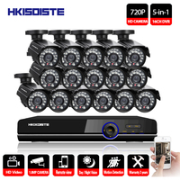 16CH DVR 1080P HDMI CCTV System Video Recorder Outdoor CCTV Security Camera System P2P 16 Channel HDMI DVR Recorder Cameras Kit