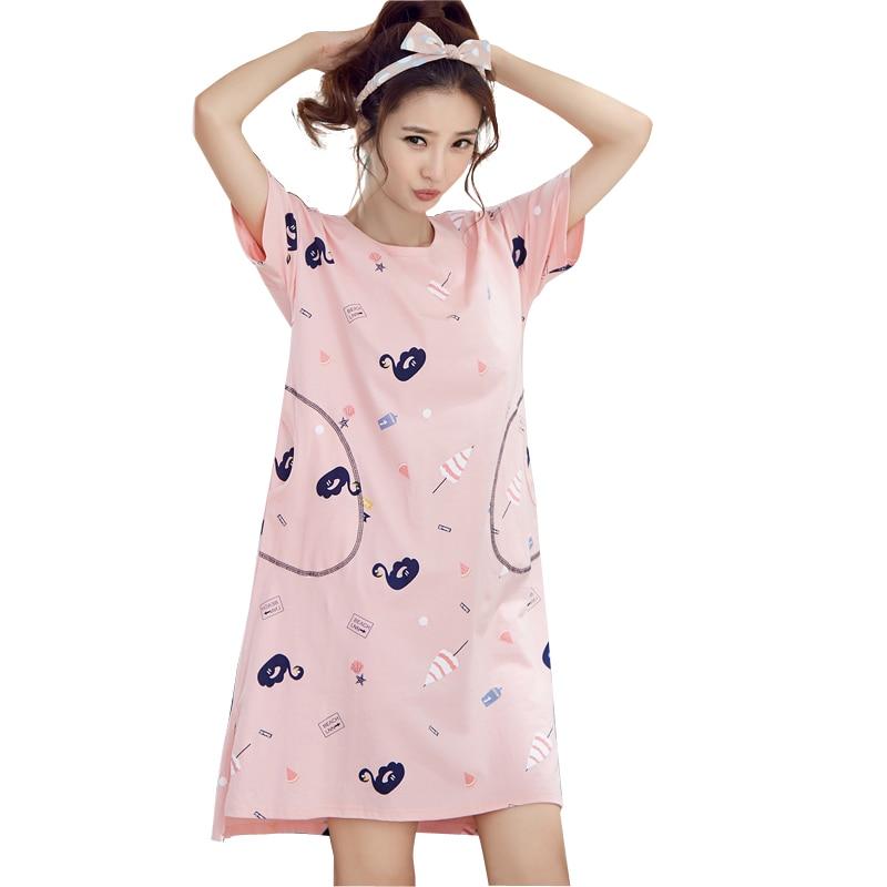 679bebb8a Buy pink sleep dress cartoon and get free shipping on AliExpress.com