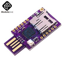 TF MicroSD Micro SD Card Slot USB Keyboard Virtual ATMEGA32U4 Modul untuk Arduino Leonardo R3 CJMCU(China)