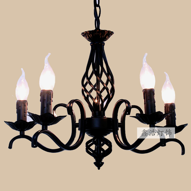 Aliexpress Buy American wrought iron lights chandelier – Wrought Iron Lighting Chandelier