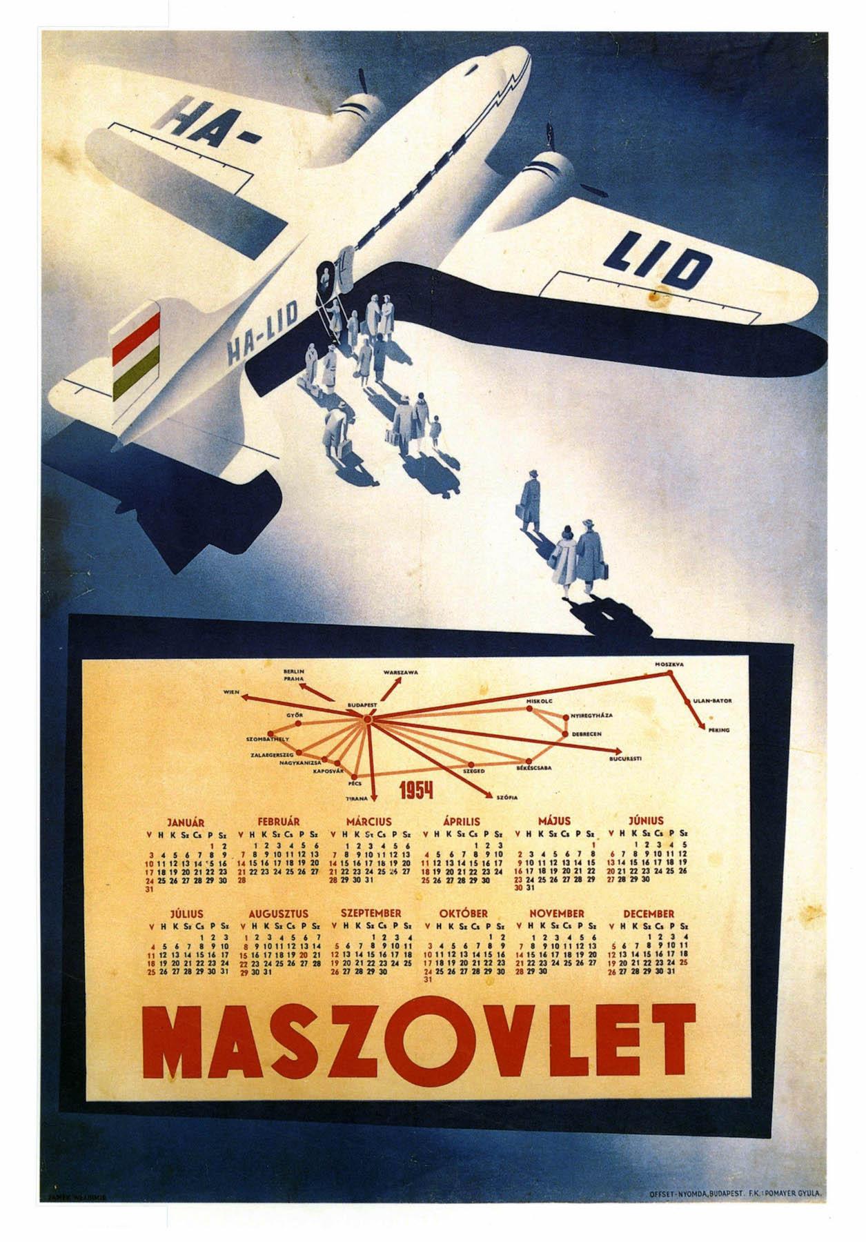 Transatlantic French Airline Travel Landscape Vintage Retro Poster ...