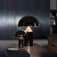 Италия город 1000 Золотая награда Atollo настольные лампы гриб лампы дизайн FG923