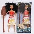 33 см принцесса моана куклы Фигурки игрушки мауи принцесса моана Приключения детские игрушки с оригинальной коробке для девочек Рождество подарок